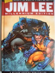 Wizard Jim Lee Millennium Edition Hardcover Book Batman